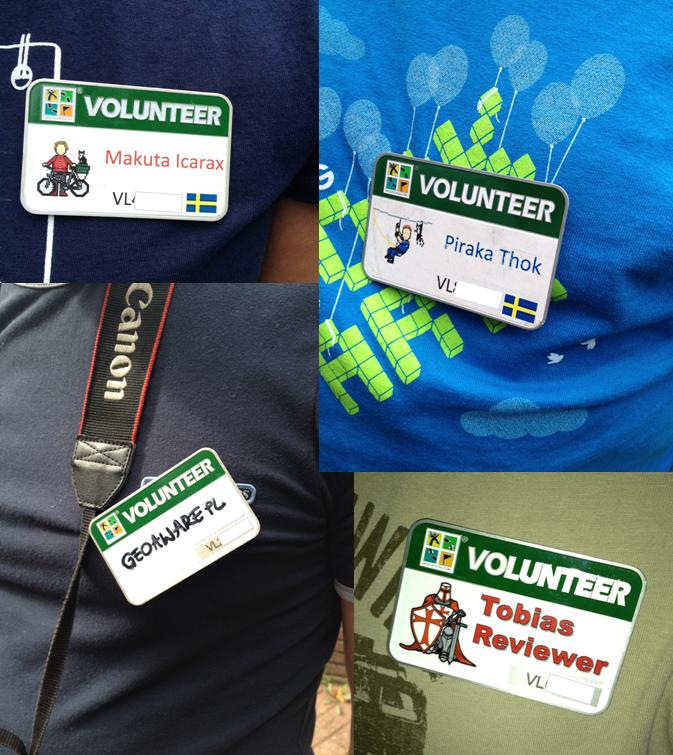 Volunteer Name Tags