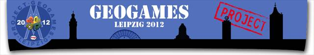 Project GeoGames Leipzig 2012 Banner